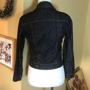 Levi's Jackets & Coats - LEVIS size SMALL Darkwash DENIM jacket $79 new